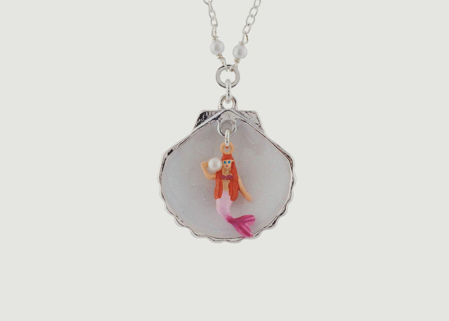 Collier Petite Sirène Dans Son Coquillage - N2