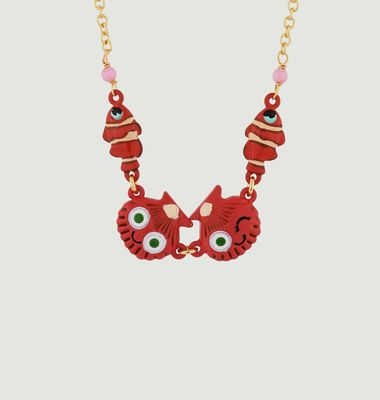 Collier Coquillages et Poissons-Clowns