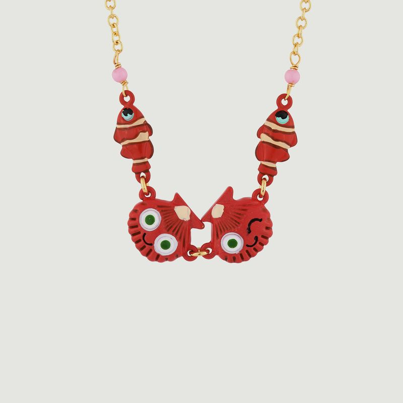 Collier Coquillages et Poissons-Clowns - N2