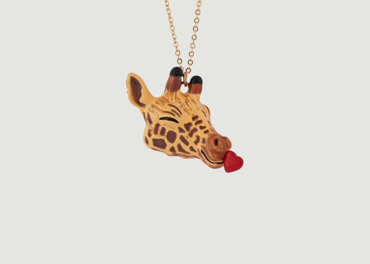 Sautoir Girafe Pleine d'Amour - N2