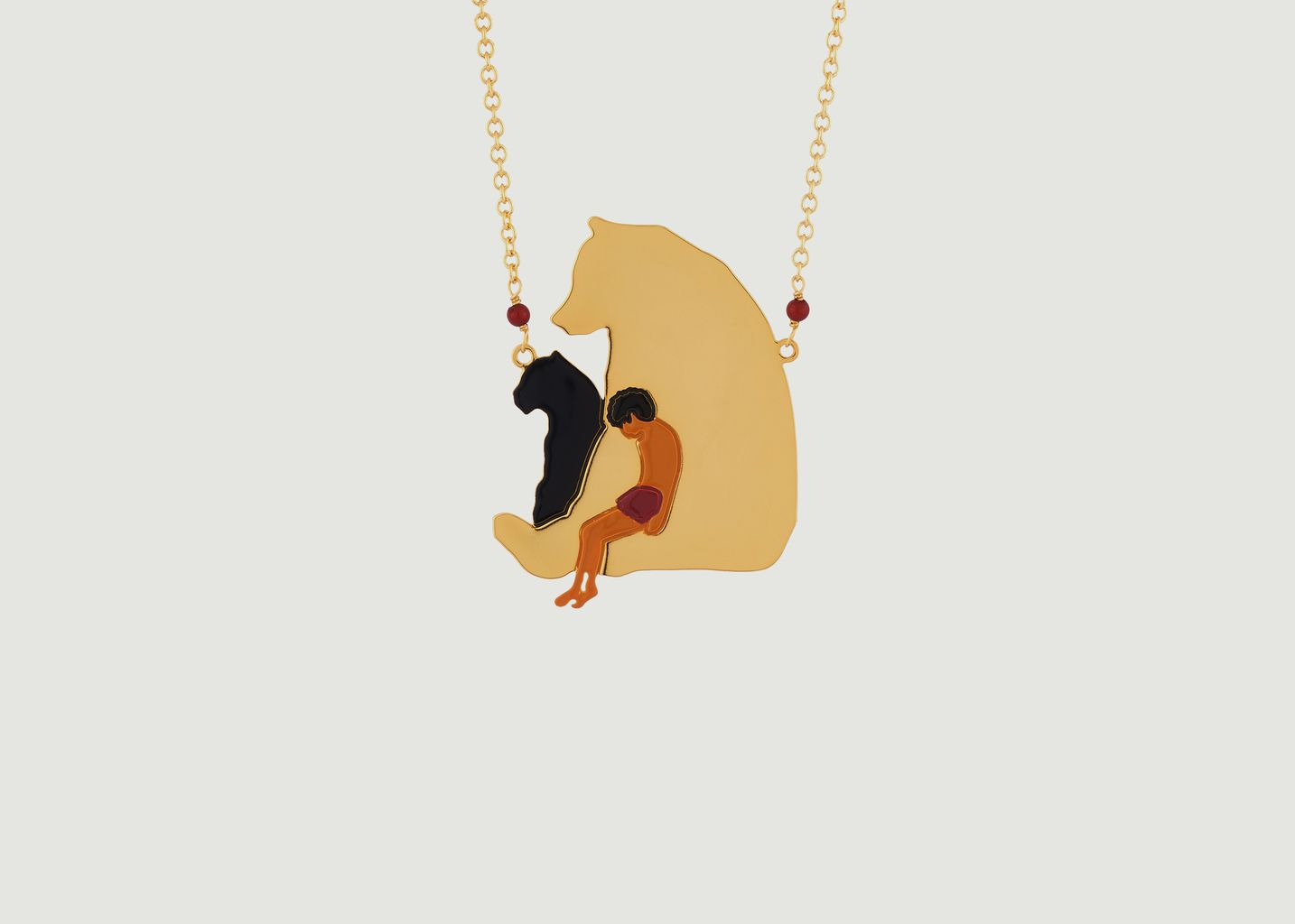 Sautoir Mowgli - N2