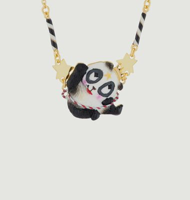 Flying Panda Necklace