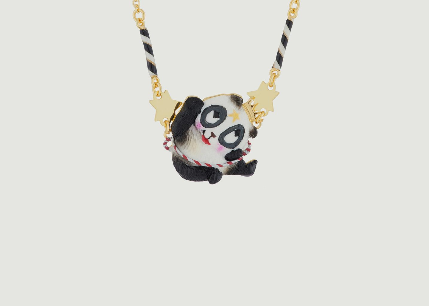 Collier Fin Panda Voltigeur - N2