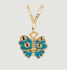 Collier Chaîne Avec Papillon