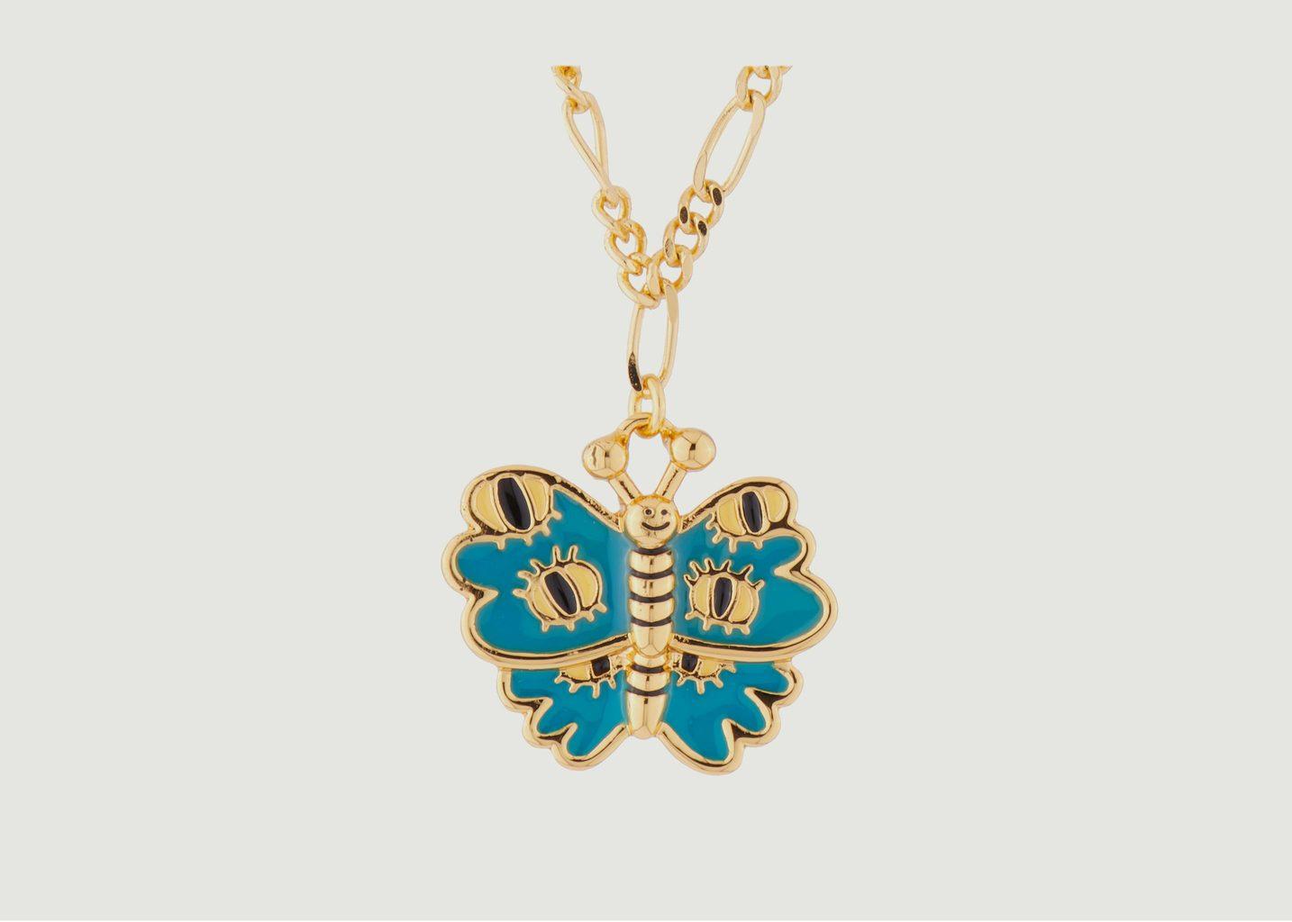 Collier Chaîne Avec Papillon - N2