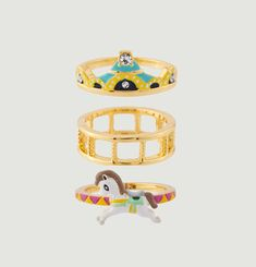 Carrousel Ring Stack