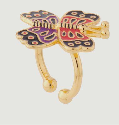 Bague Ajustable Papillon