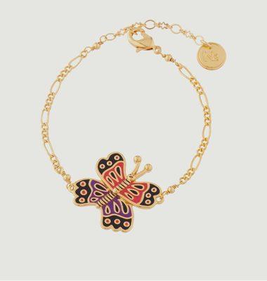Bracelet Fin Papillon