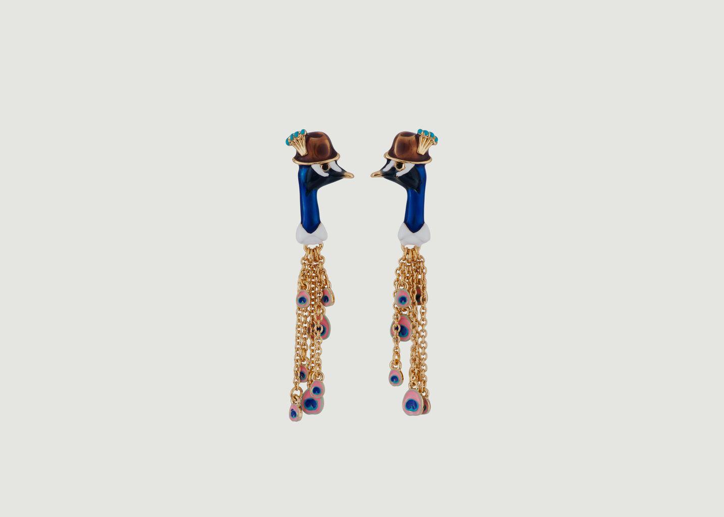 Nicely Happy Peacock Earrings - N2