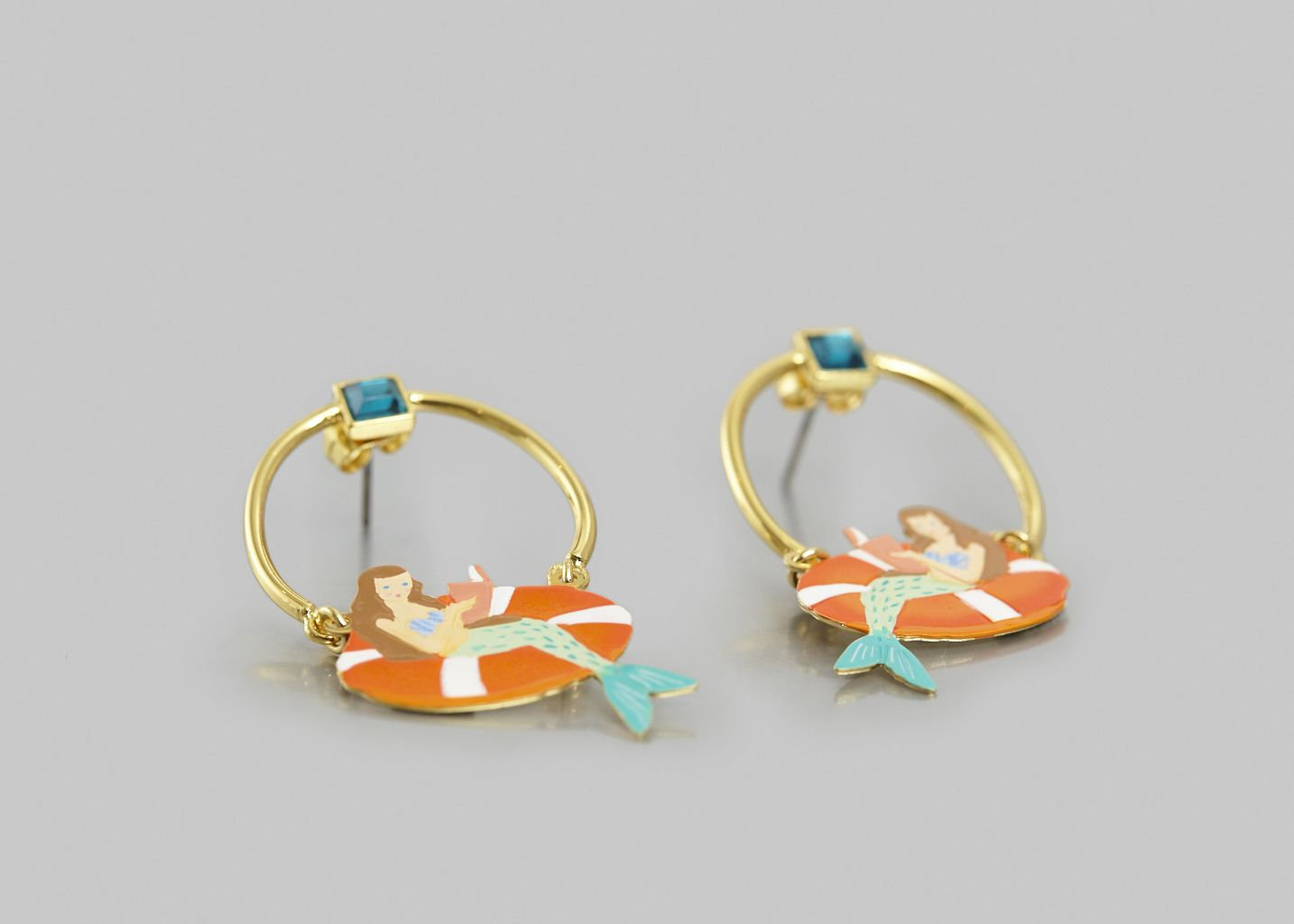 Mermaid Earrings - N2