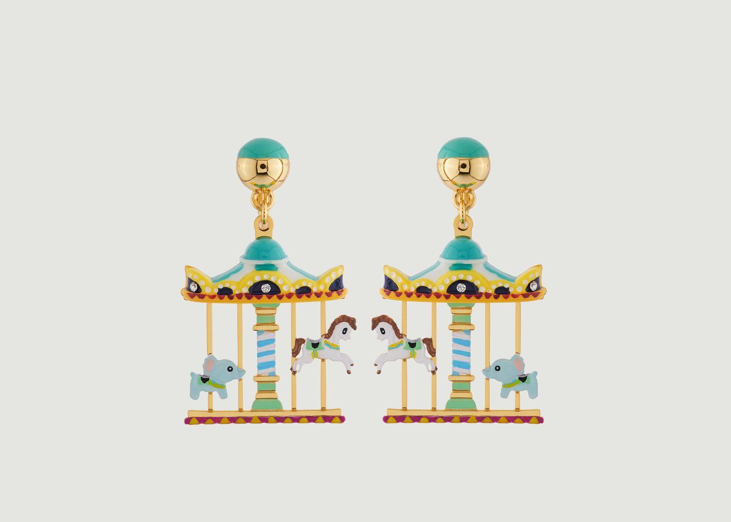 Boucles d'Oreilles Le Manège Enchanté - N2