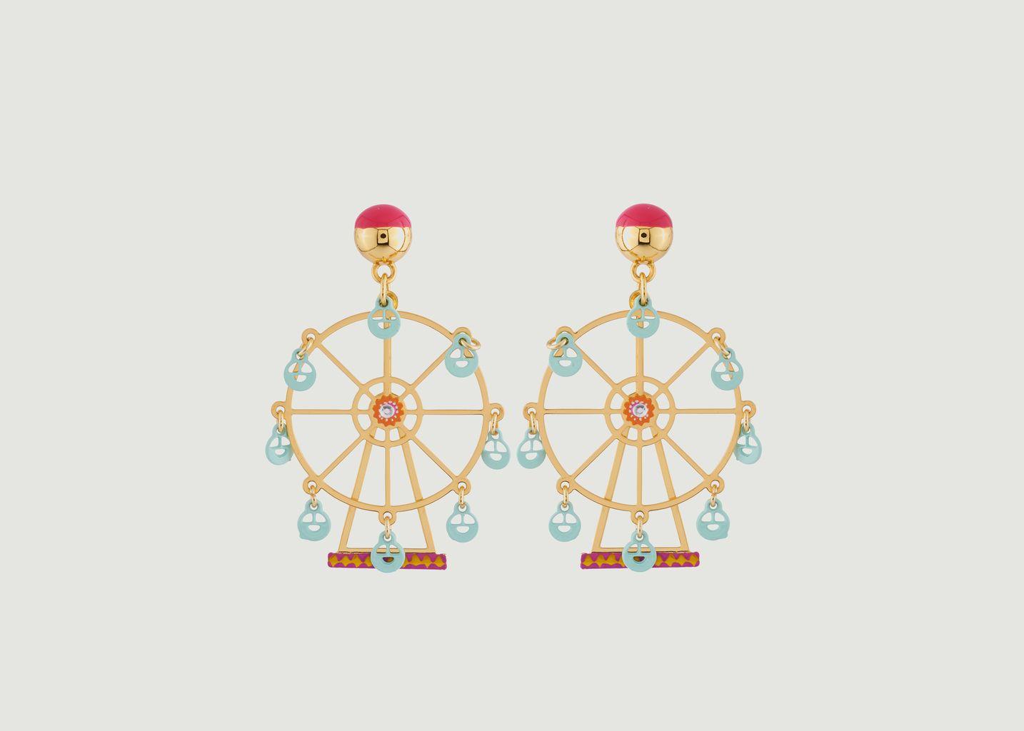 Boucles D'Oreilles Grande Roue Enchantée - N2