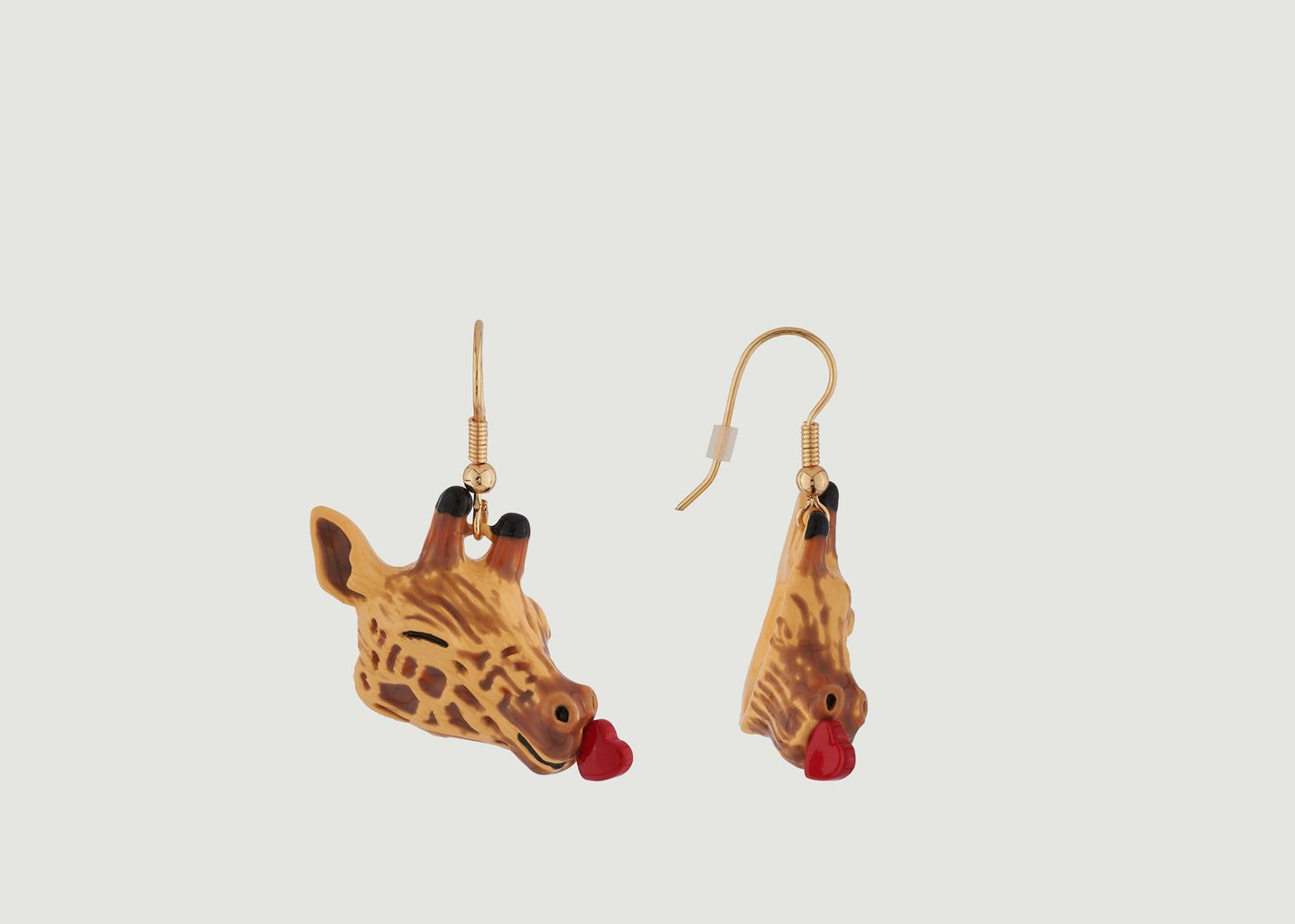 Boucles d'Oreilles Girafe Pleine d'Amour - N2
