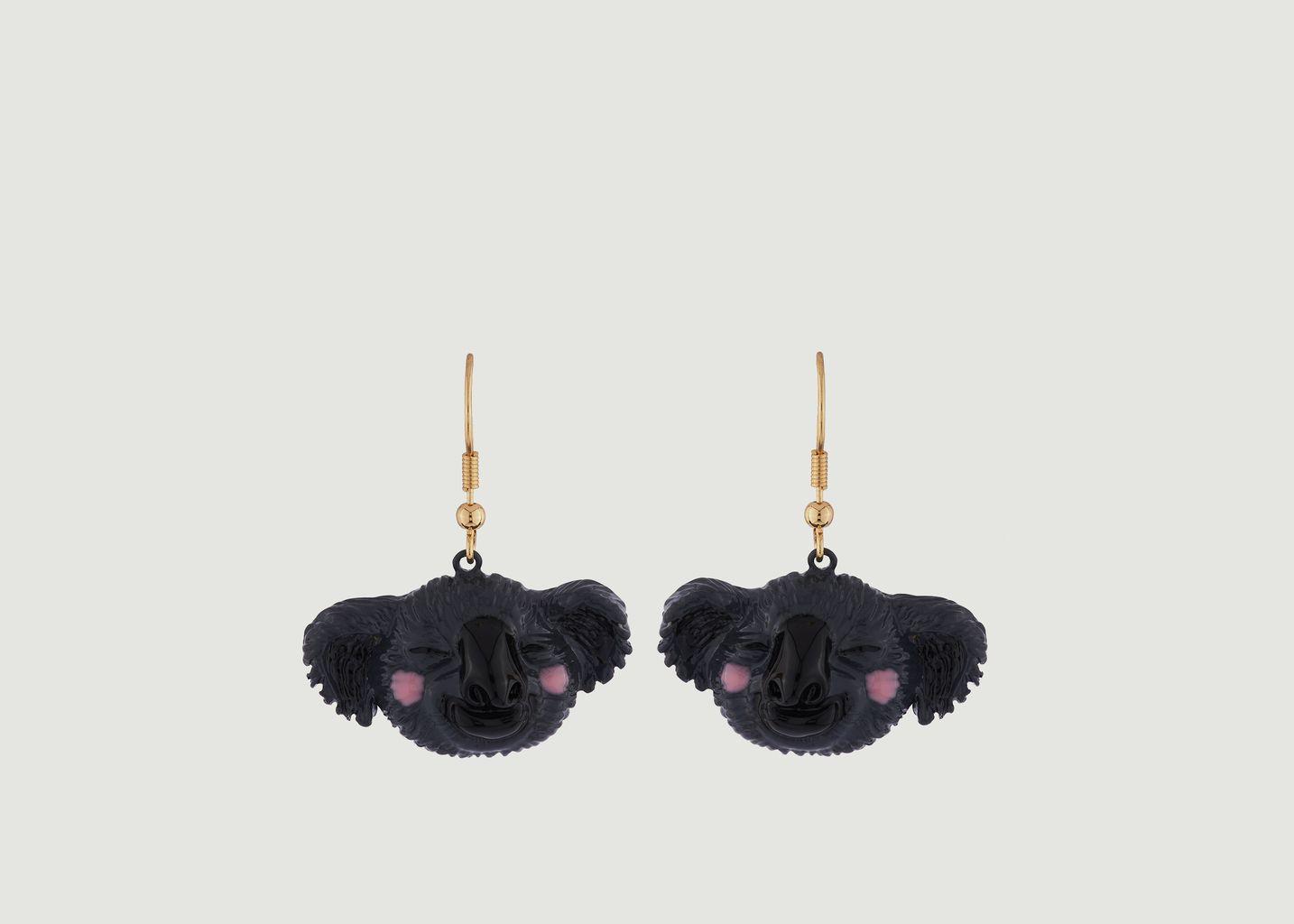 Boucles d'Oreilles Koala Malicieux  - N2