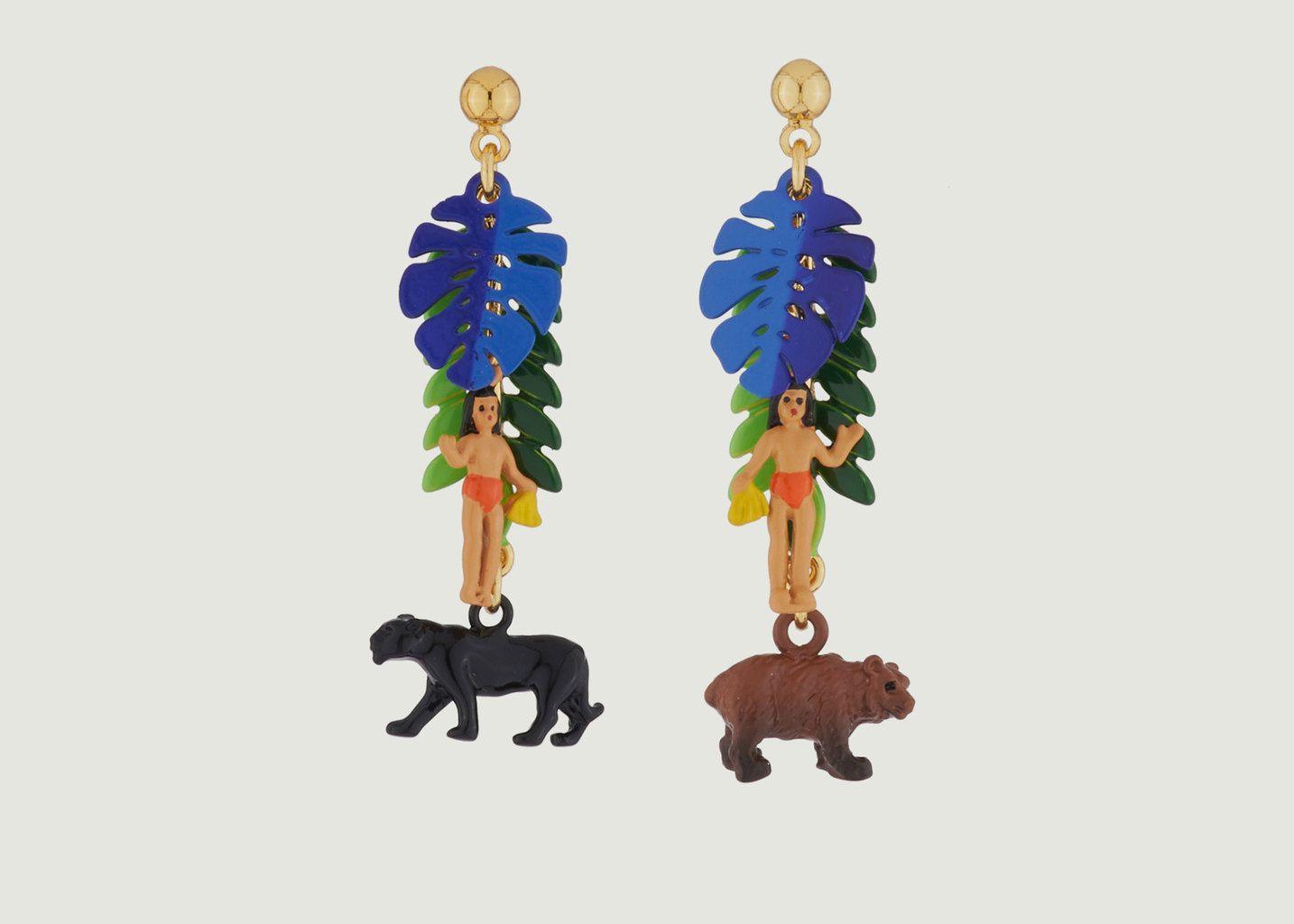 Boucles d'Oreilles Livre de la Jungle - N2