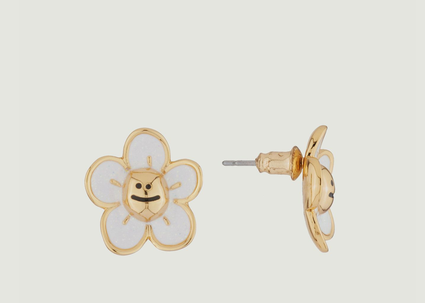 Boucles d'Oreilles Marguerite - N2