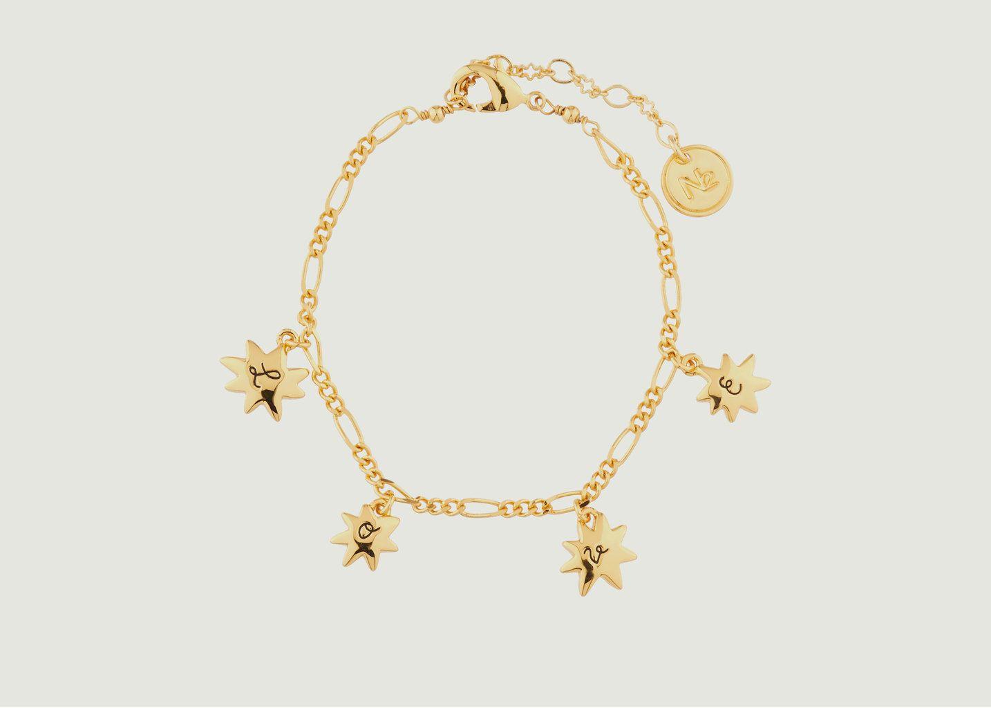 Bracelet Charms Love Etoiles - N2