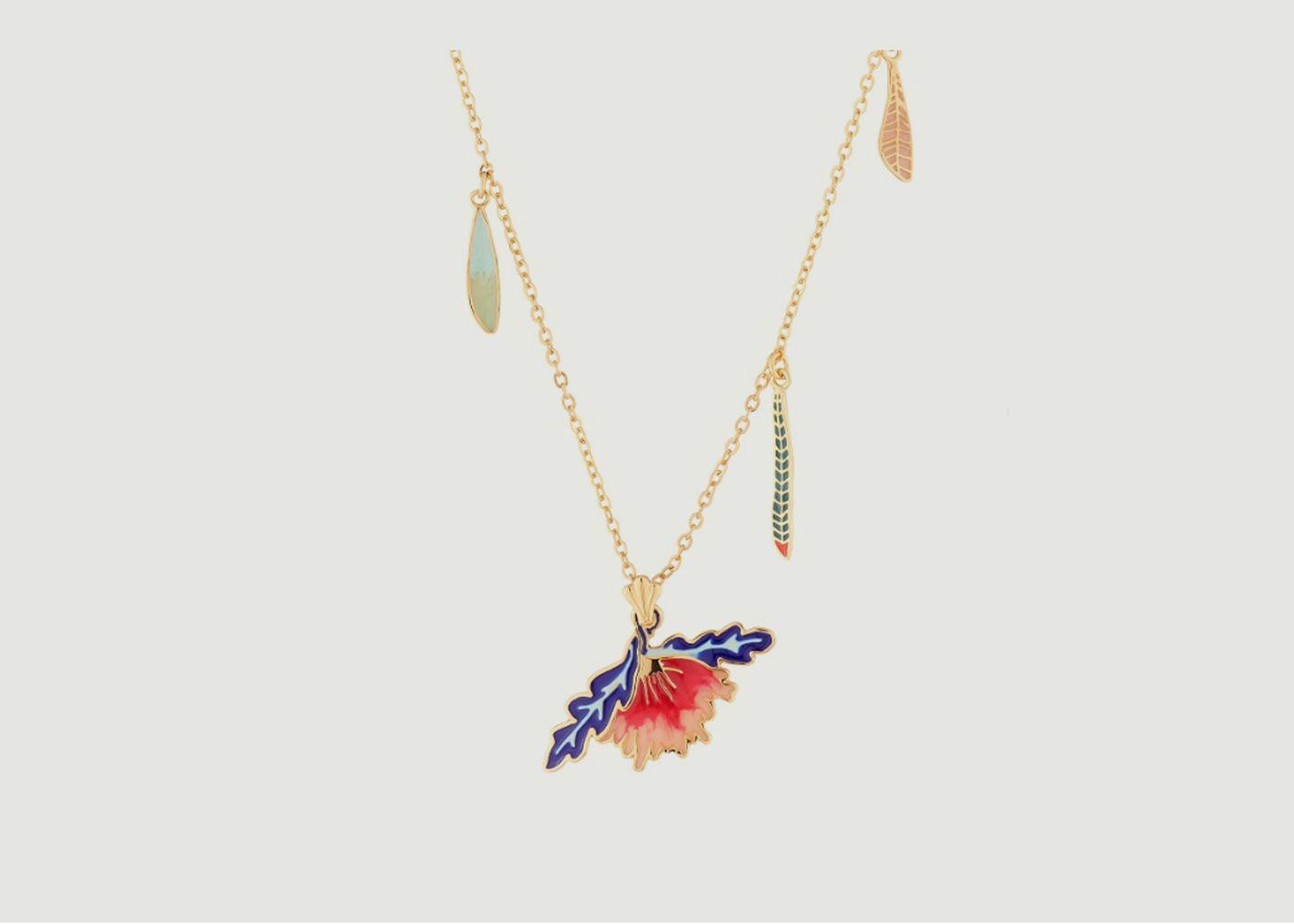 Collier avec pendentif fleur - N2