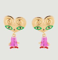 Palmier earrings N2