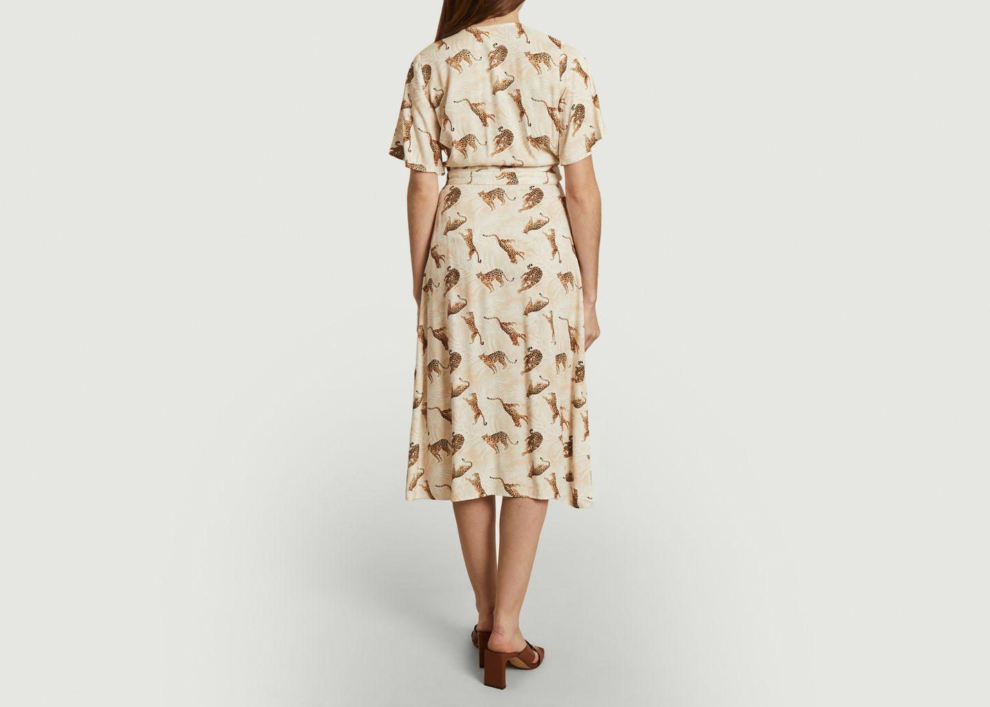 Robe longue imprimé léopards Bella Di Capri - Nach