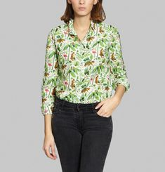 Chemise Colorful Jungle