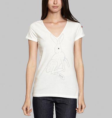 T-Shirt Lapin Brodé