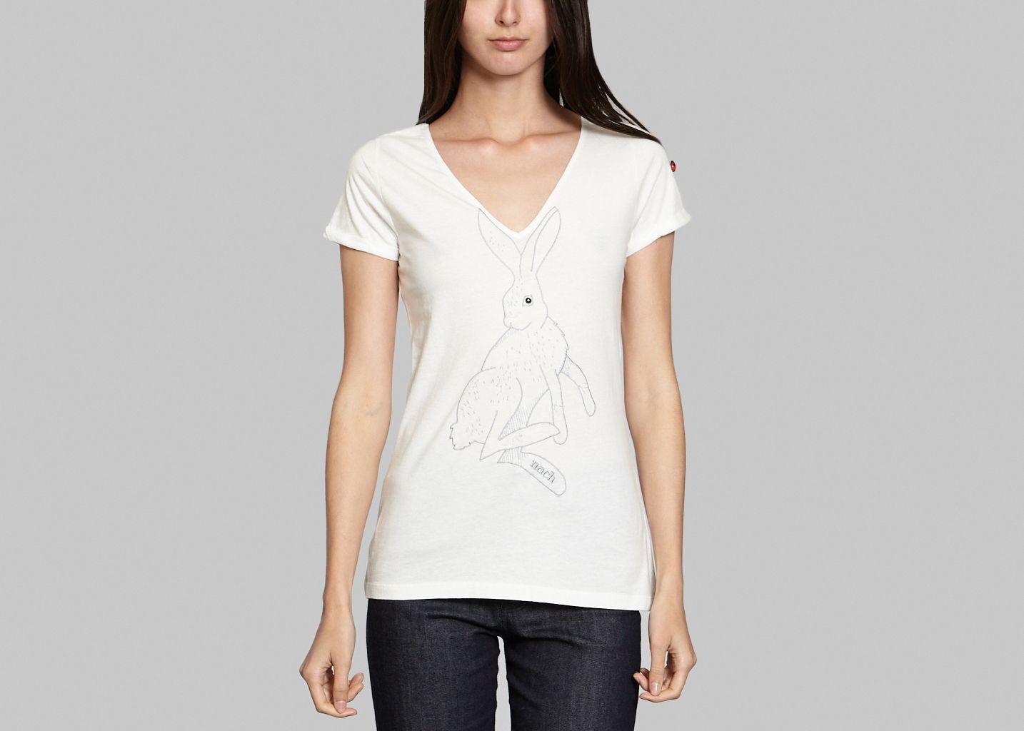T-Shirt Lapin Brodé - Nach Bijoux