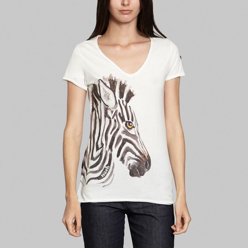 T-Shirt Zebra - Nach
