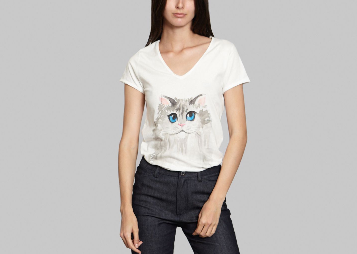 Cat T-shirt - Nach Bijoux