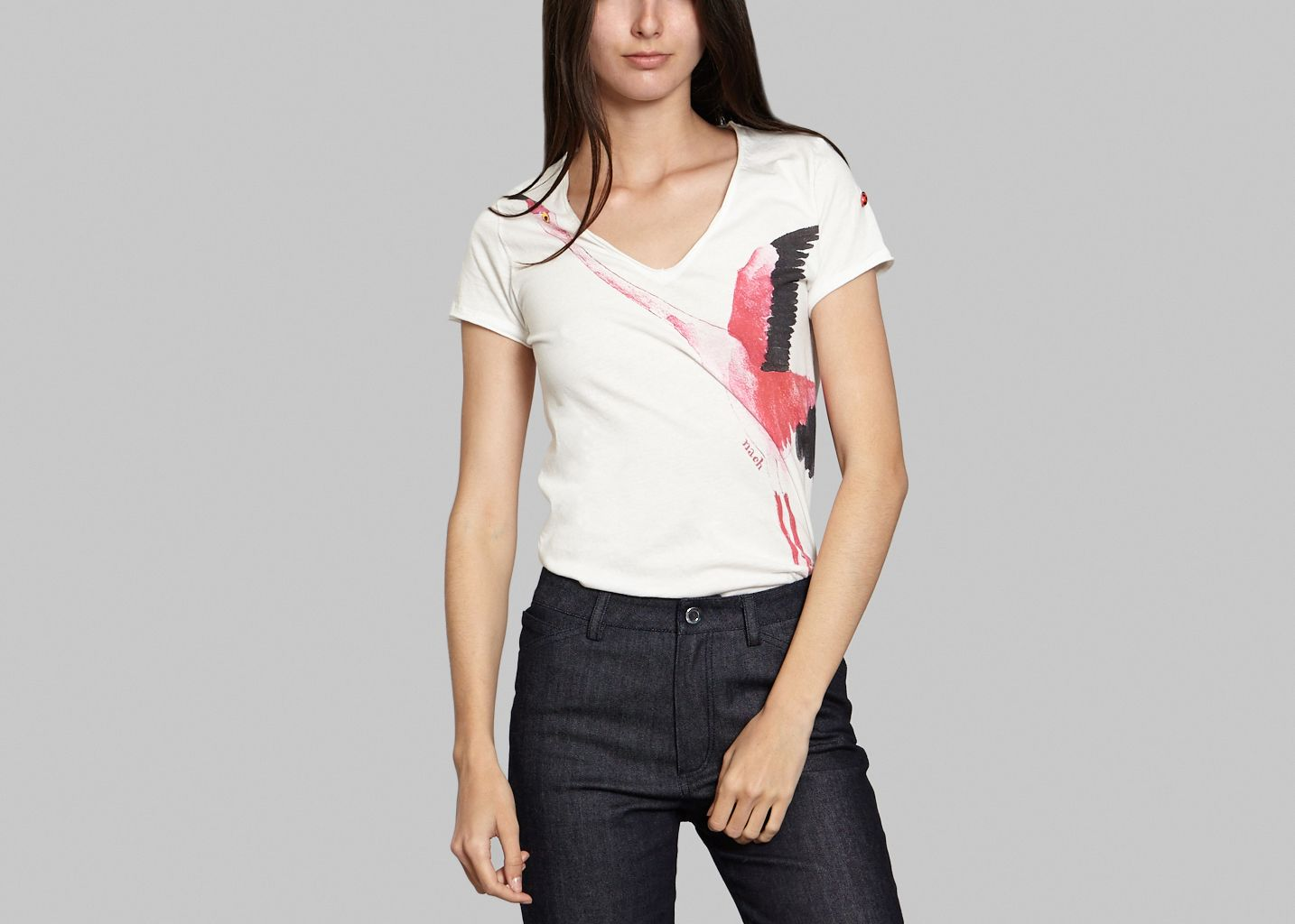 Flamingo T-shirt - Nach