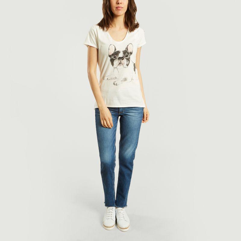 T-Shirt Bulldog - Nach