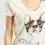 matière T-Shirt Bulldog - Nach