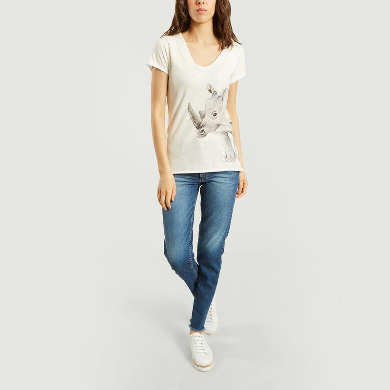 T-Shirt Rhinocéros - Nach