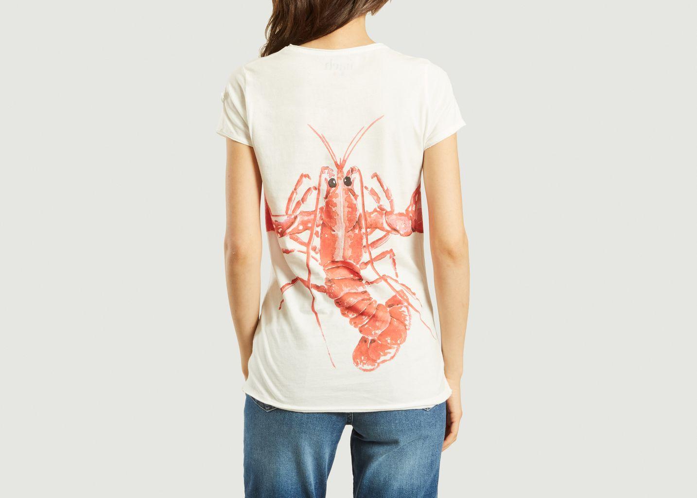 T-Shirt Homard Rouge - Nach