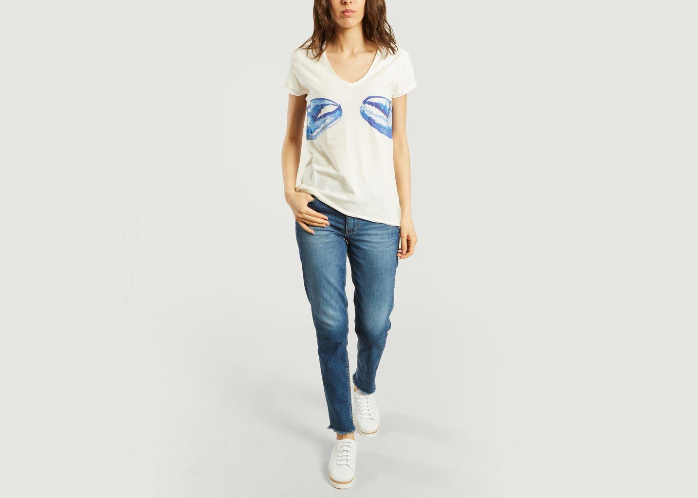 T-Shirt Homard Bleu - Nach
