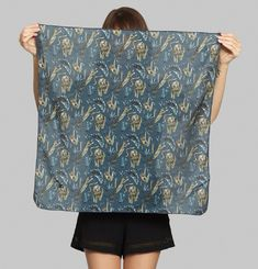 Jungle Night Scarf