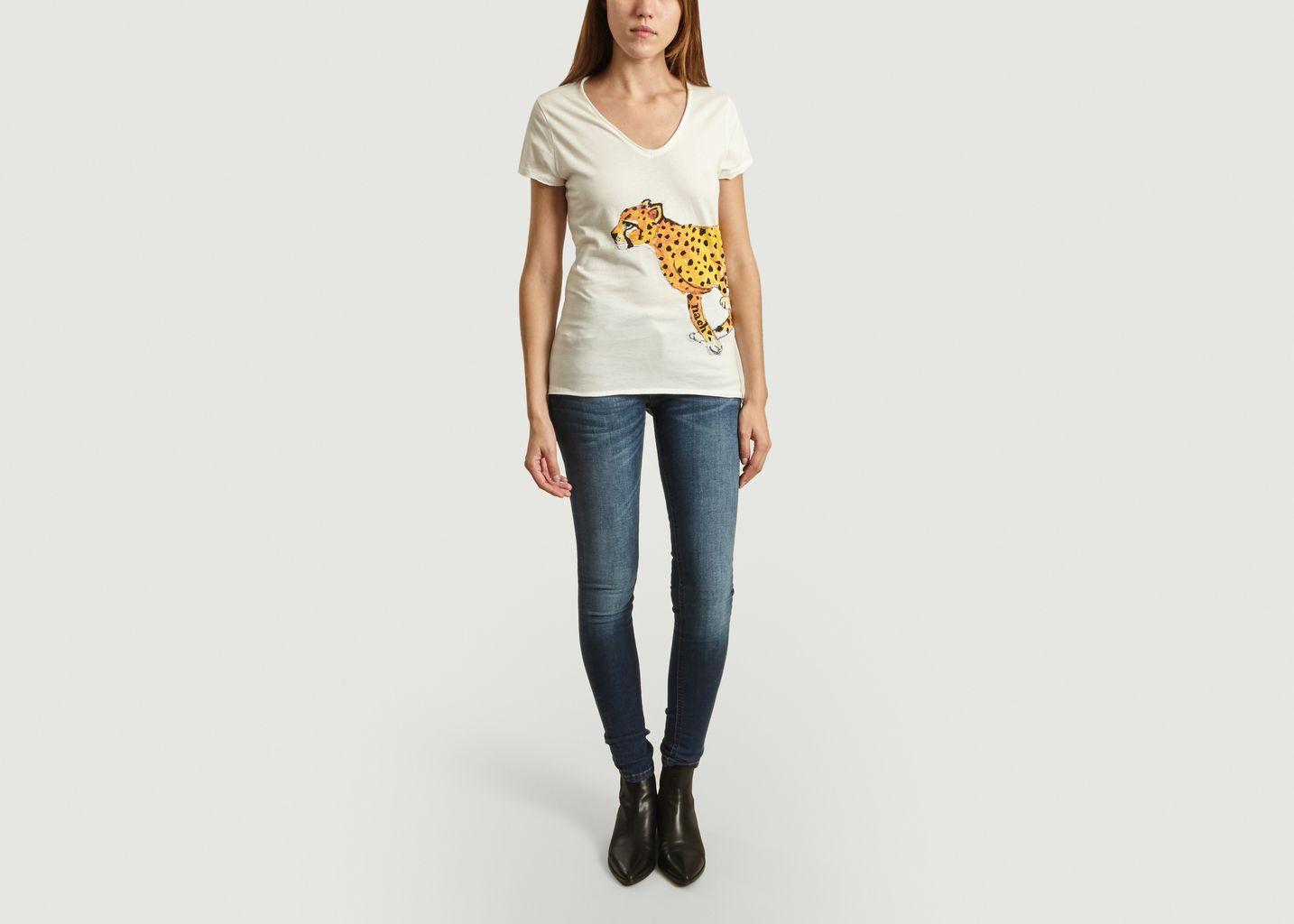 T-Shirt Guépard - Nach