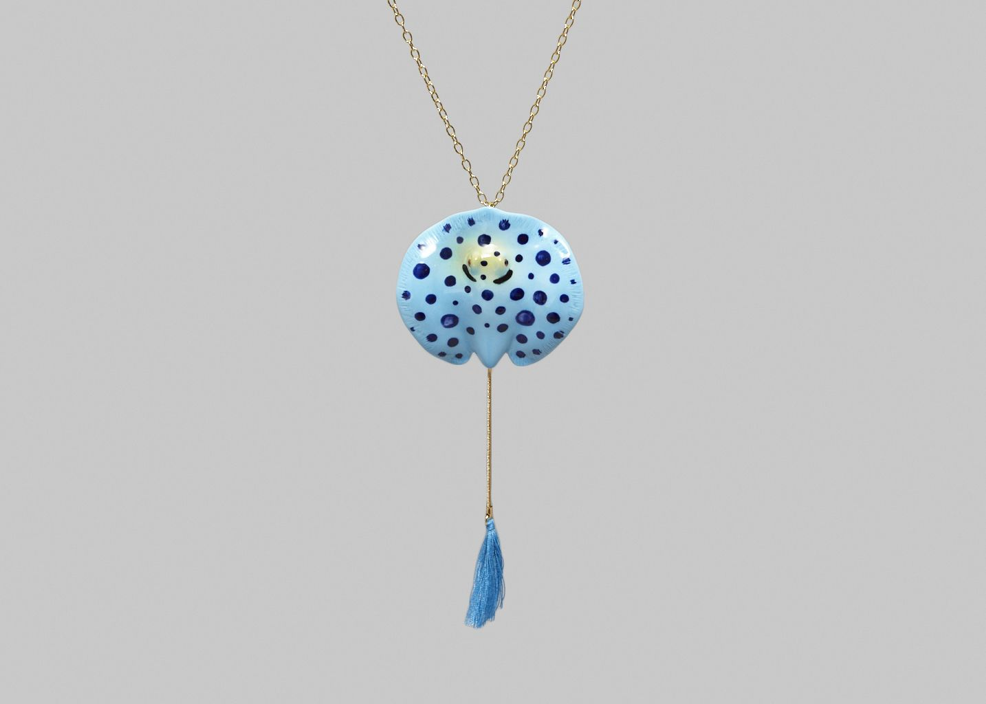 Spotted Ray Necklace - Nach