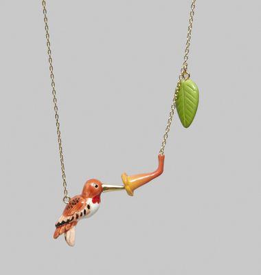 Collier Humming Bird