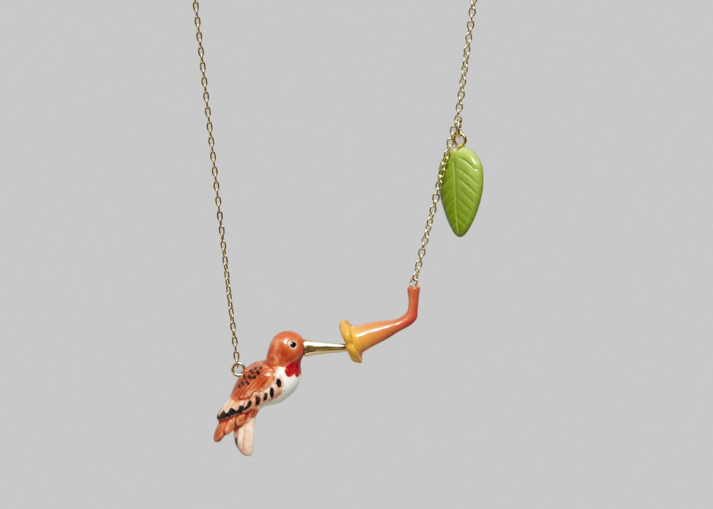 Collier Humming Bird - Nach