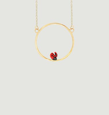 Mini Collier Ladybug