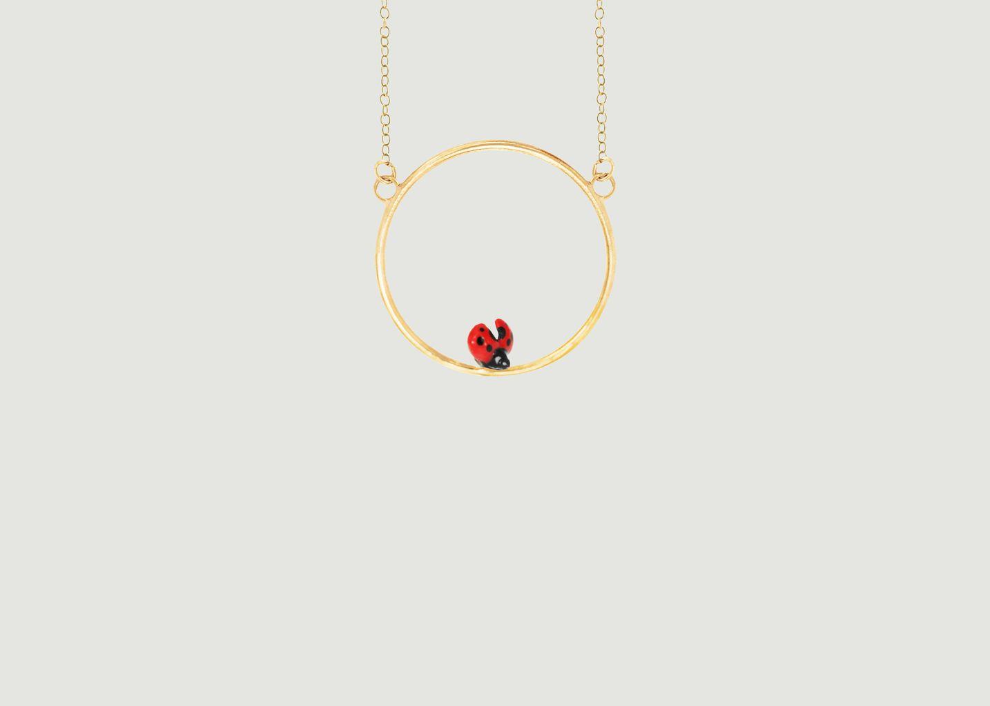 Mini Collier Ladybug - Nach