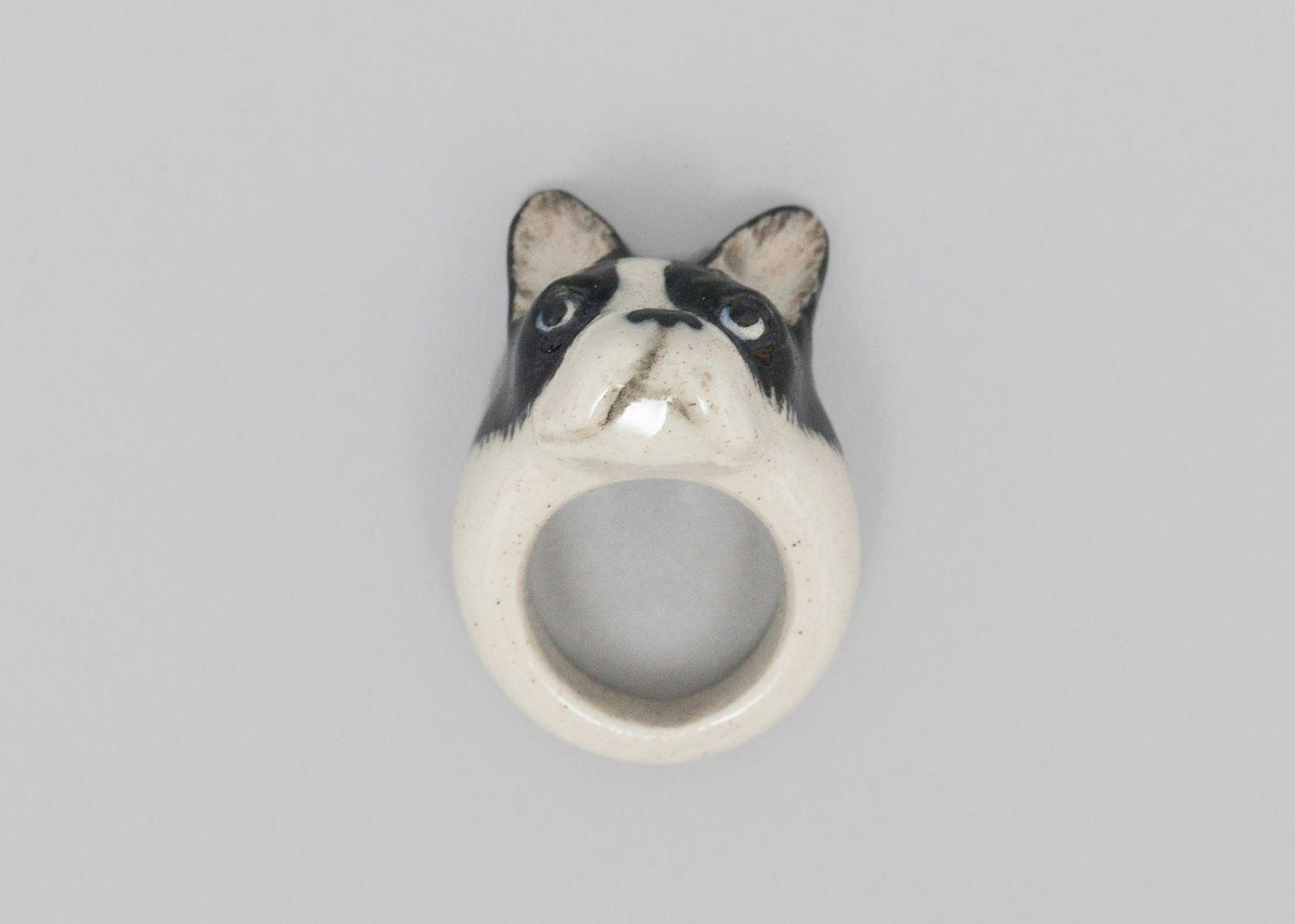 Bague Bulldog - Nach