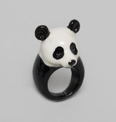 Bague Panda