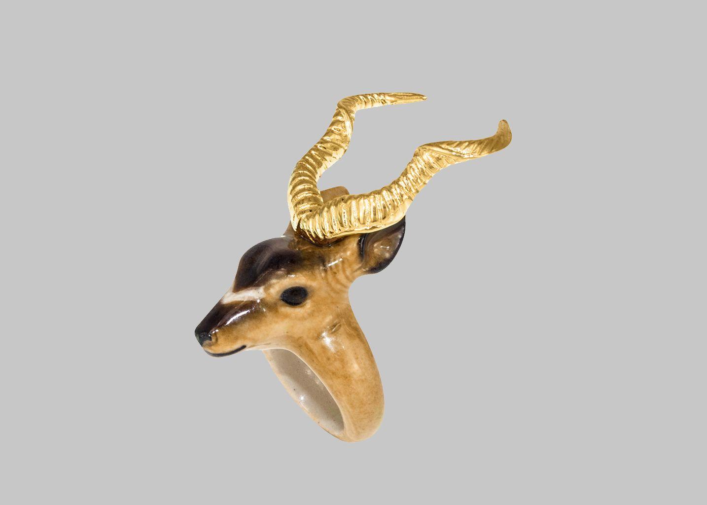 Bague Antilope - Nach