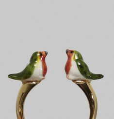 Bague Robin Bird Face to Face