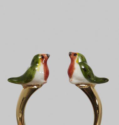 Bague Robin Bird Face to Face