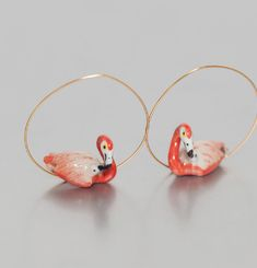 Boucles Flamingo