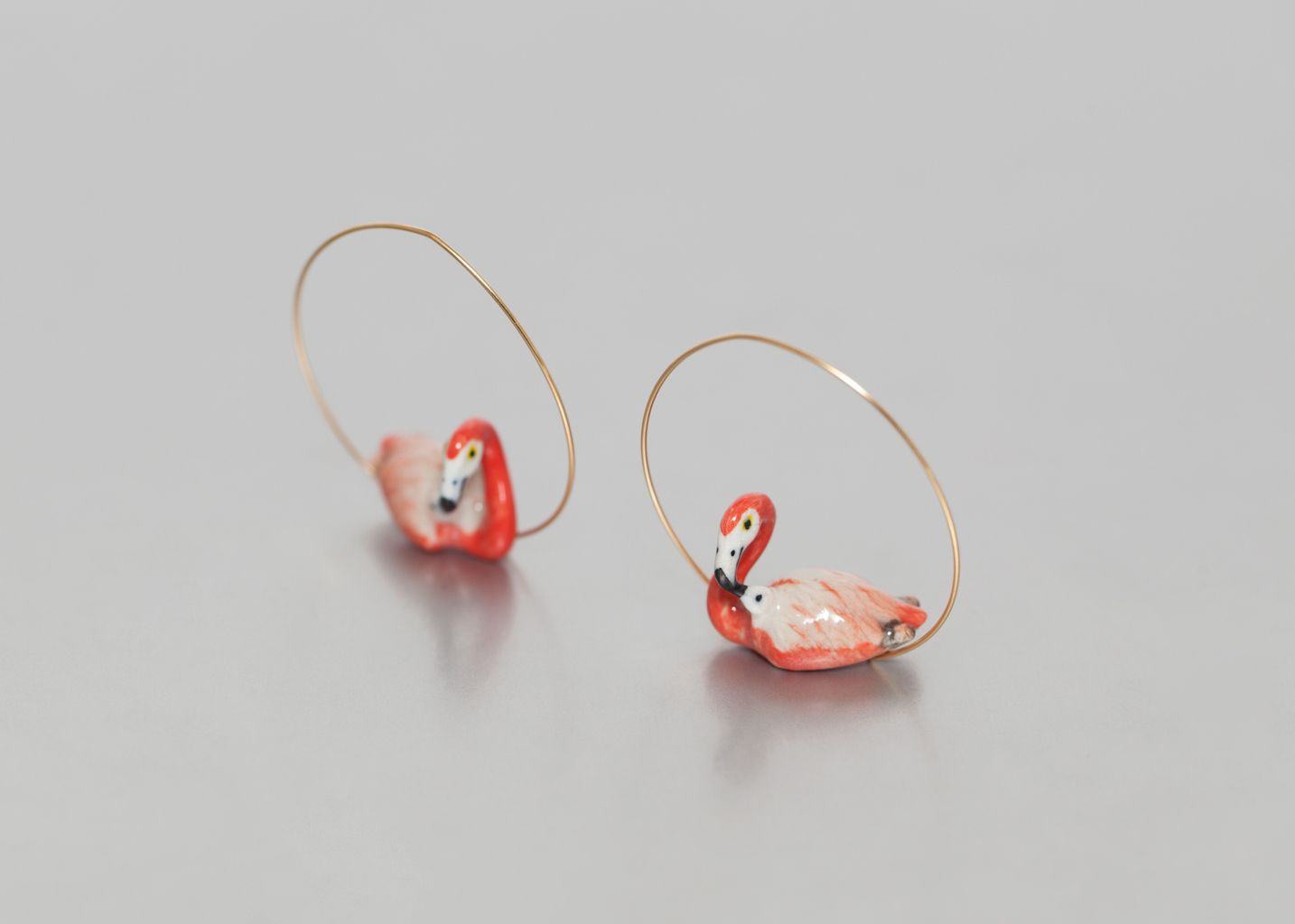 Flamingo Earrings - Nach