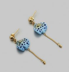 Spotted Ray Earrings